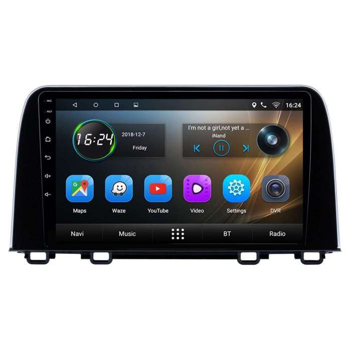 "Radio Navegador GPS Android para Honda CVR (9"")"