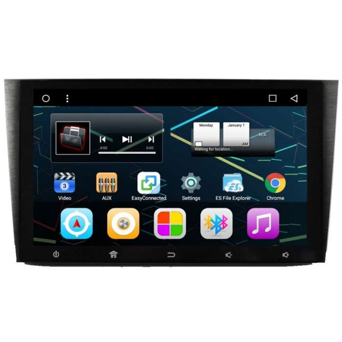 "Radio DVD Navegador GPS Android para Honda CRV (9"")"