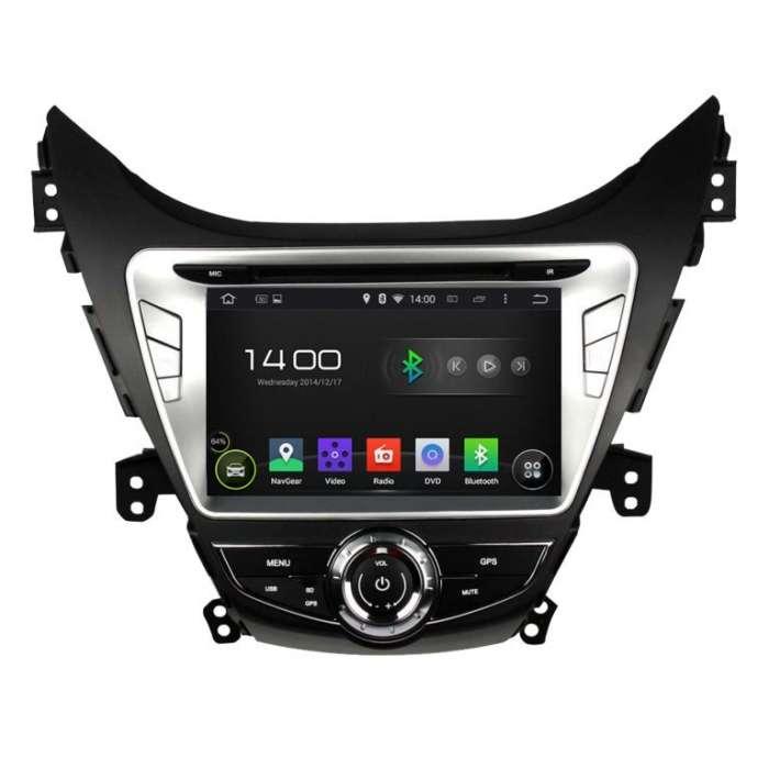 "Radio DVD Navegador GPS Android para Hyundai Elantra / I35 (8"")"