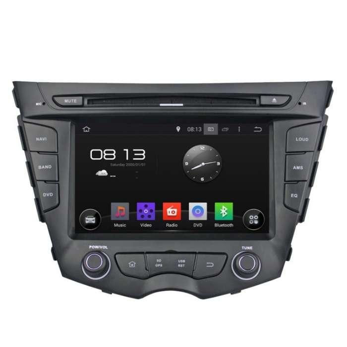 "Radio DVD Navegador GPS Android para Hyundai Veloster (8"")"