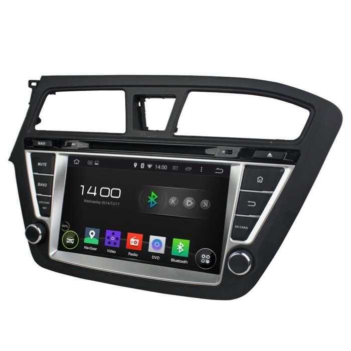 "Radio DVD Navegador GPS Android para Hyundai I20 (8"")"