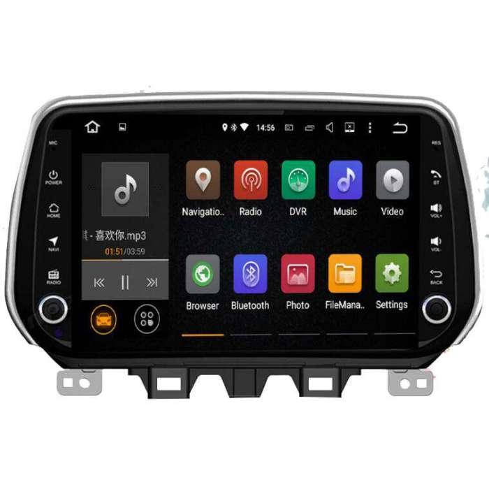 "Radio DVD Navegador GPS Android para Hyundai Tucson (8"")"