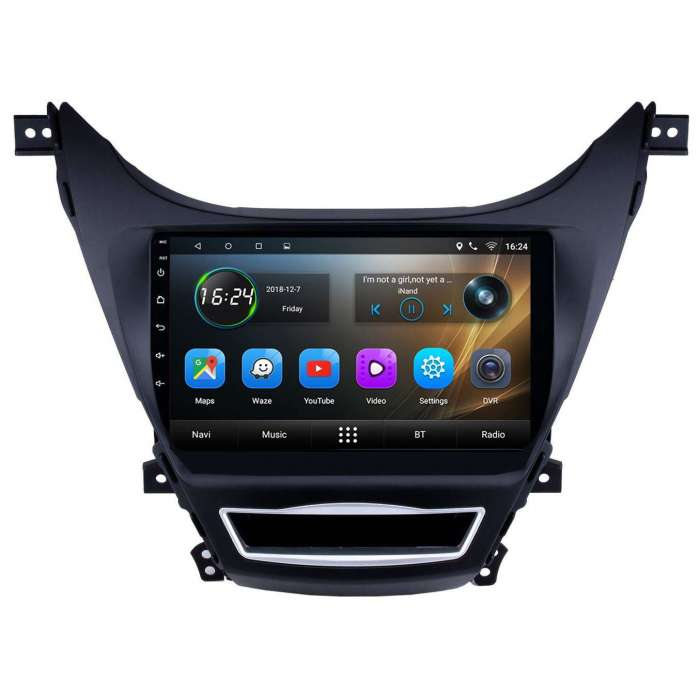 "Radio Navegador GPS Android para Hyundai Elantra (10"")"