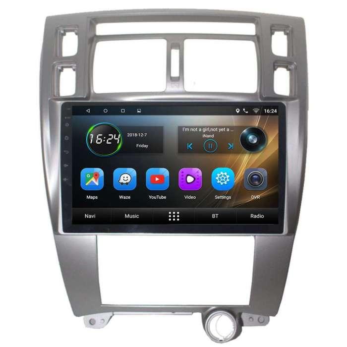 "Radio Navegador GPS Android para Hyundai Tucson AC Auto (10,2"")"
