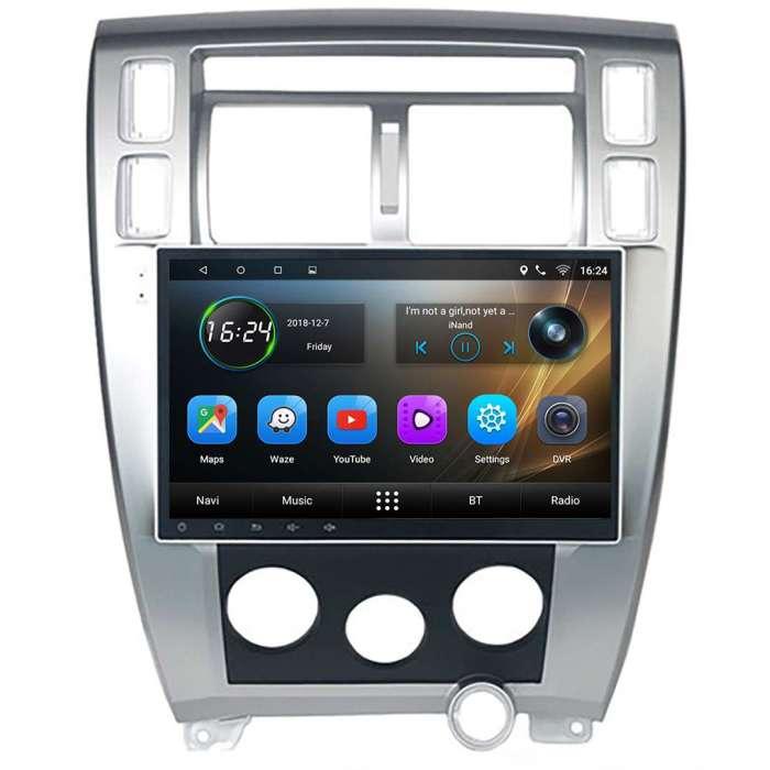 "Radio Navegador GPS Android para Hyundai Tucson AC Manual (10,2"")"
