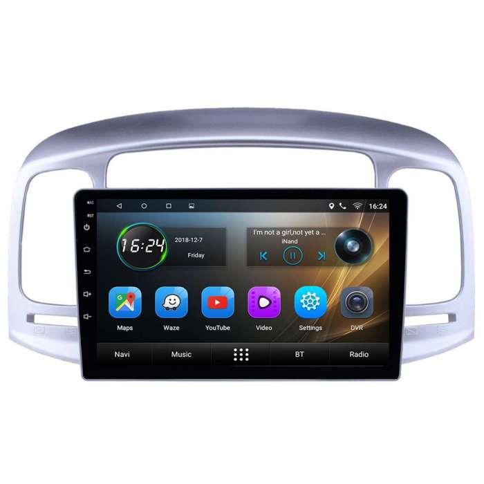 "Radio Navegador GPS Android para Hyundai Accent (9"")"