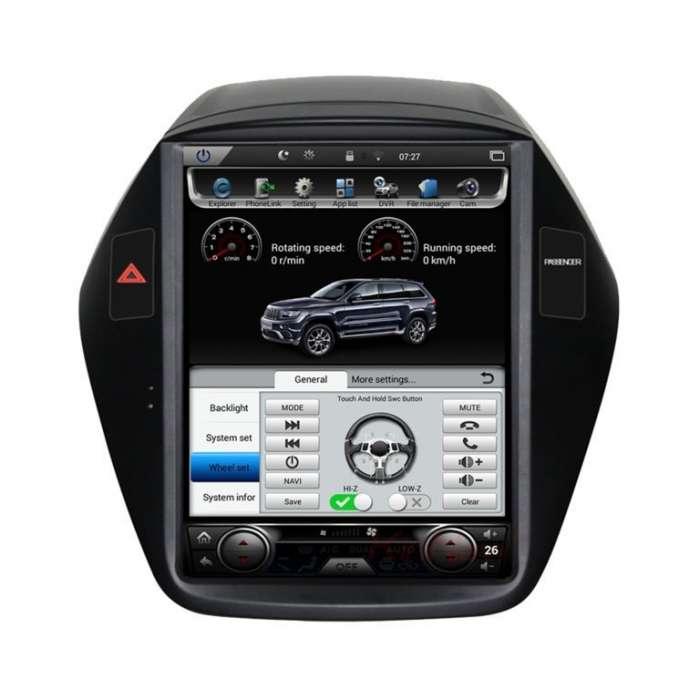 "Radio Navegador Android Tipo Tesla para Hyundai IX35 / Tucson (10,4"")"
