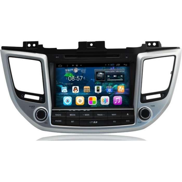 "Radio DVD Navegador GPS Android para Hyundai Tucson (9"")"