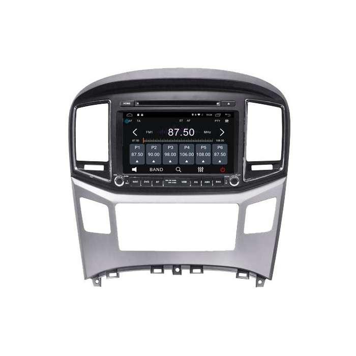 "Radio DVD Navegador GPS Android para Hyundai H1 (8"")"