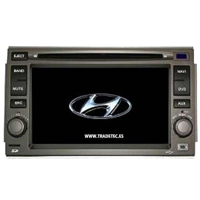 "Radio DVD Navegador GPS Android para Hyundai (6,5"")"