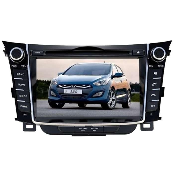 "Radio DVD Navegador GPS Android para Hyundai I30 (8"")"