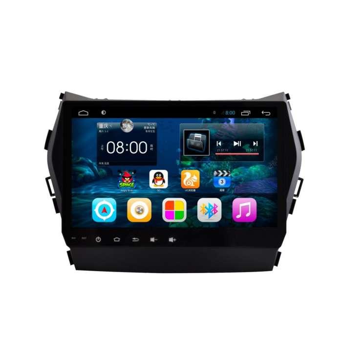 """Radio Navegador GPS Android para Hyundai IX45 / Santa Fe (9"""")"""