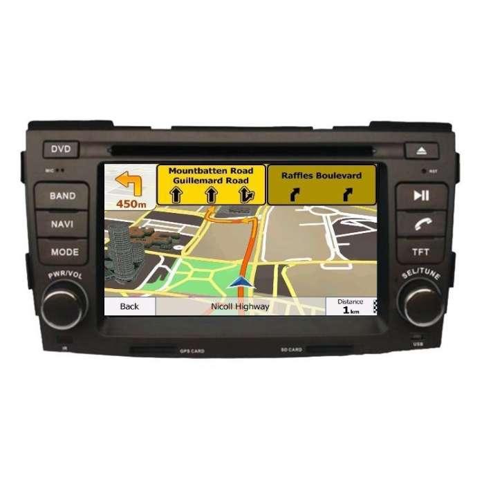 """Radio DVD Navegador GPS Android para Hyundai Sonata (7"""")"""