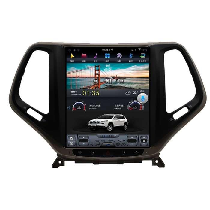 "Radio Navegador Android Tipo Tesla para Jeep Grand Cherokee (10,4"")"