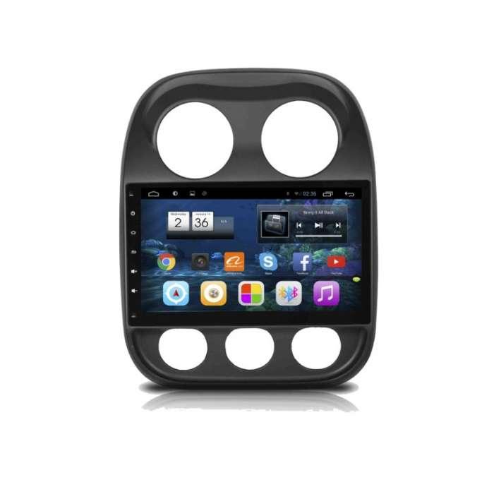 """Radio Monitor Navegador GPS Android para Jeep Compass (10,2"""")"""