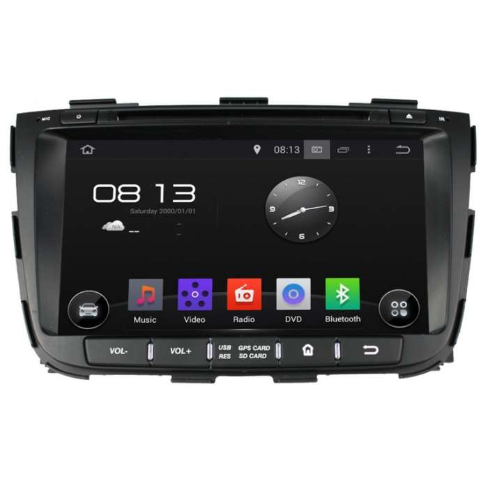 "Radio Navegador GPS Android para Kia Sorento (8"")"