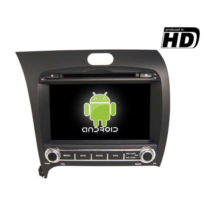 "Radio DVD Navegador GPS Android para Kia K3 / Forte / Cerato (8"")"