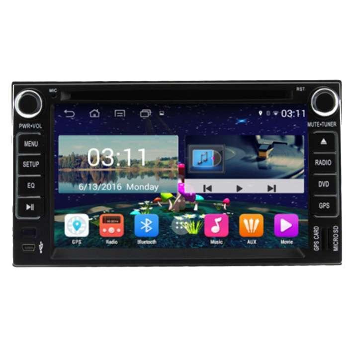 "Radio DVD Navegador GPS Android para Kia (6,2"")"