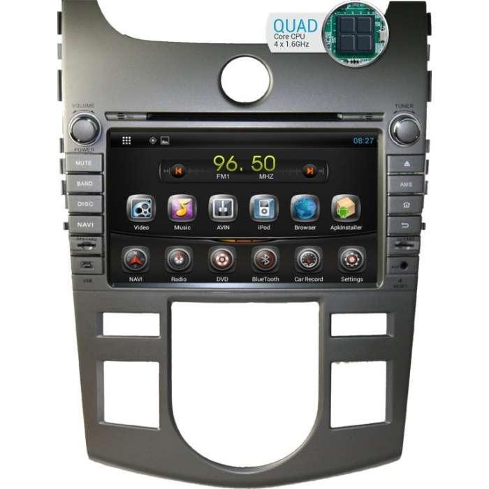 "Radio DVD Navegador GPS Android para Kia Cerato / Forte (8"")"