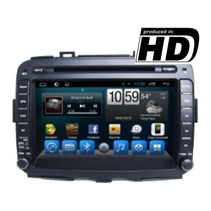 """Radio DVD Navegador GPS Android para Kia Carens (8"""")"""