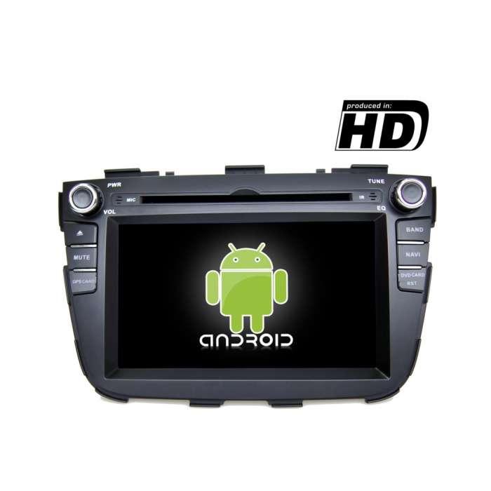 "Radio DVD Navegador GPS Android para Kia Sorento (7"")"