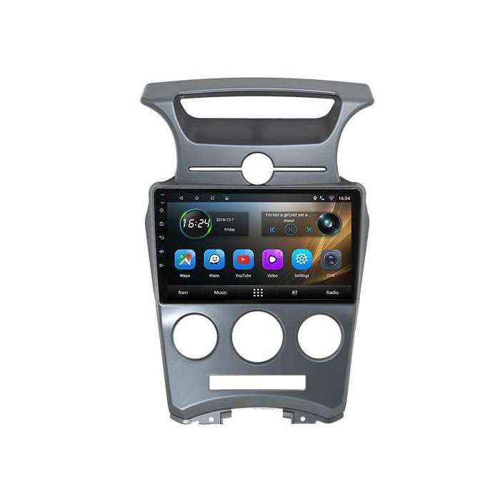"""Radio Navegador GPS Android para Kia Carens (9"""")"""