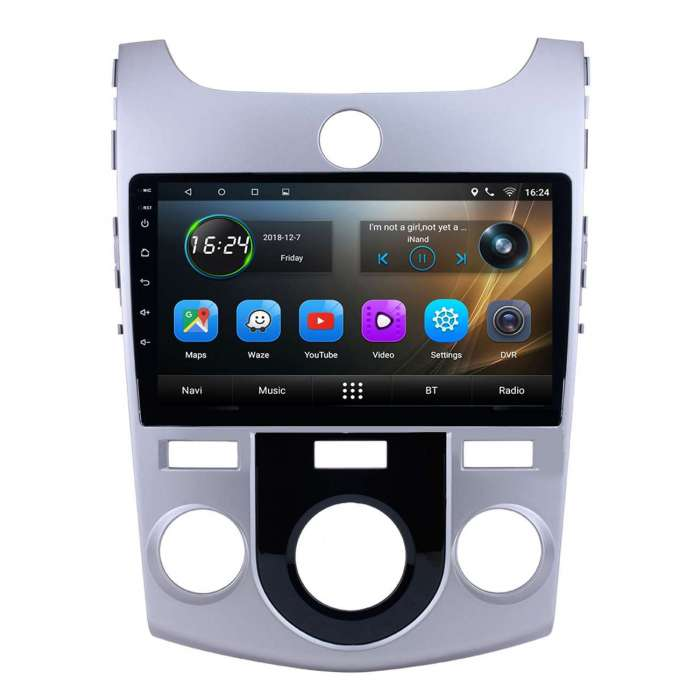 "Radio Navegador GPS Android para Kia Forte (9"")"