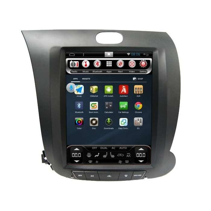 "Radio Navegador Android Tipo Tesla Kia Cerato / K3 / Forte (10,4"")"