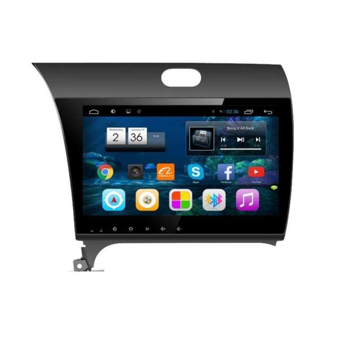 "Radio Navegador GPS Android para Kia Forte K3 (10,2"")"