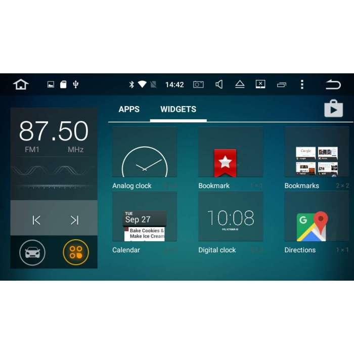 """Radio Navegador GPS Android para Kia Ceed (9"""")"""