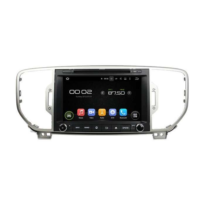 "Radio DVD Navegador GPS Android para Kia Sportage (9"")"