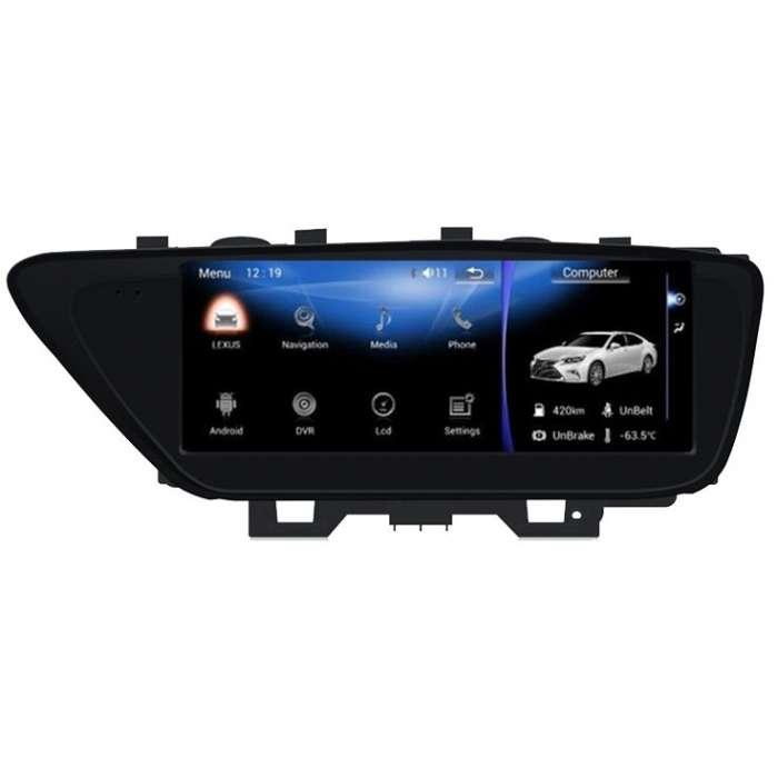 """Radio Navegador GPS Android para Lexus ES (10,25"""")"""