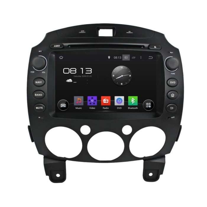 "Radio DVD Navegador GPS Android para Mazda 2 (8"")"