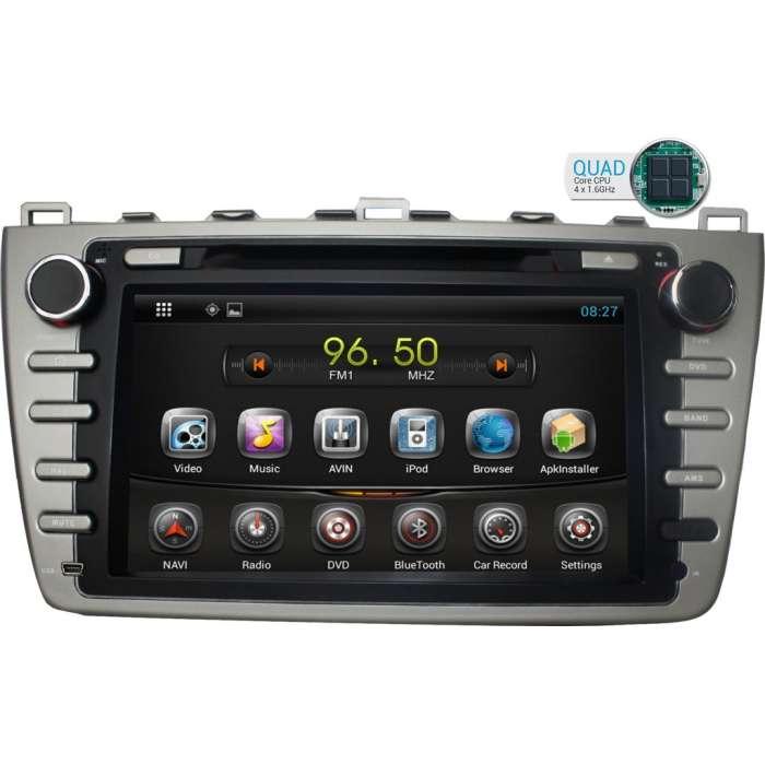 "Radio DVD Navegador GPS Android para Mazda 6 (7"")"