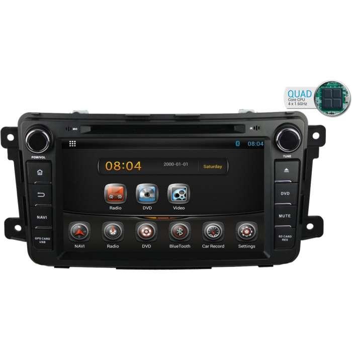 """Radio DVD Navegador GPS Android para Mazda CX-9 (8"""")"""