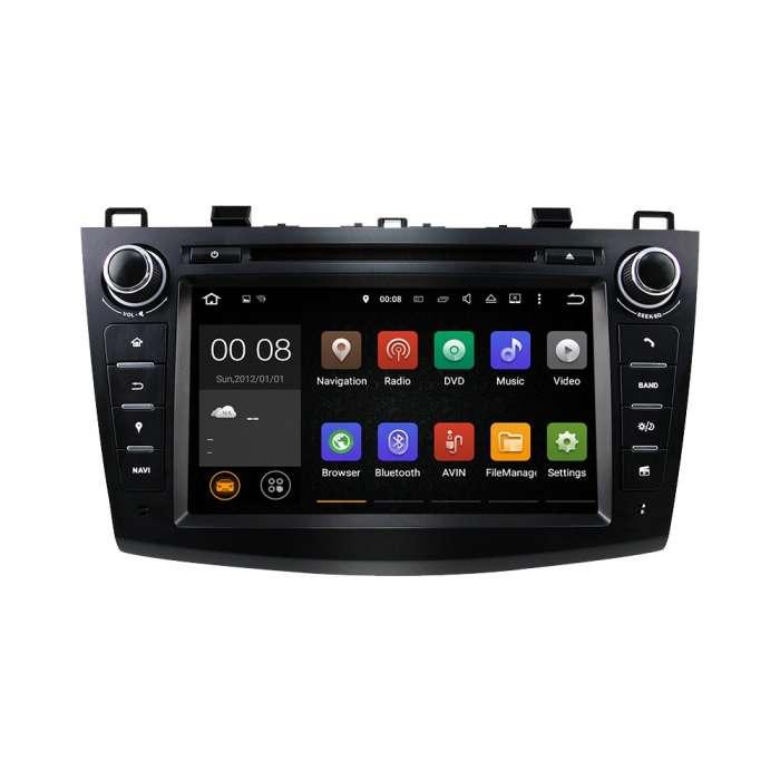 "Radio DVD Navegador GPS Android para Mazda 3 (8"")"