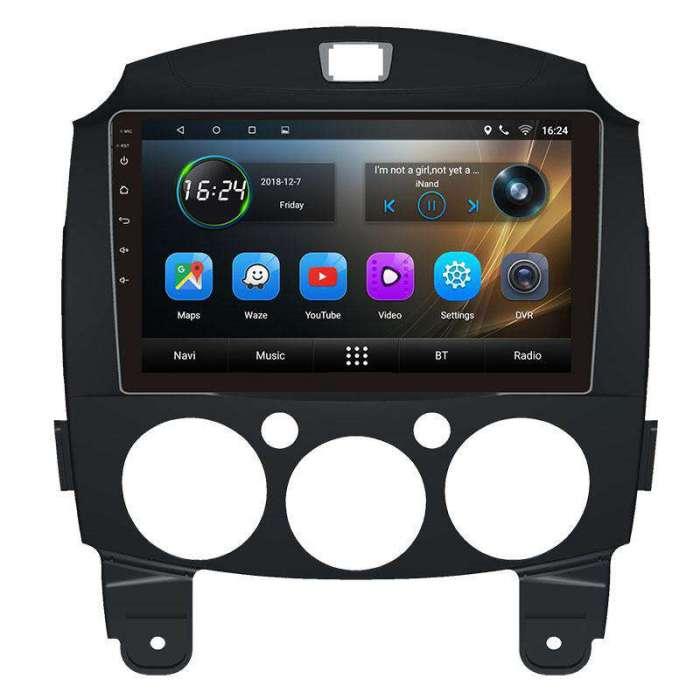 """Radio Navegador GPS Android para Mazda 2 (9"""")"""