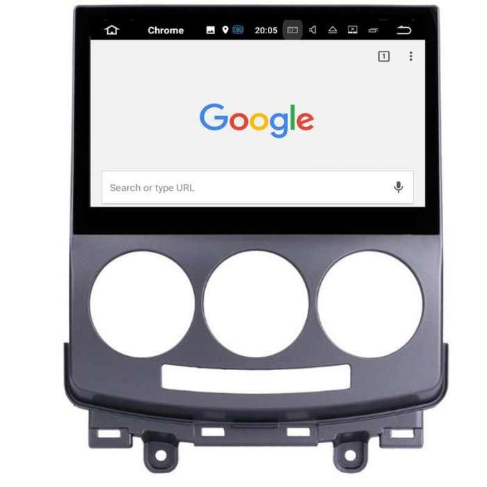 "Radio DVD Navegador GPS Android para Mazda 5 (10,2"")"