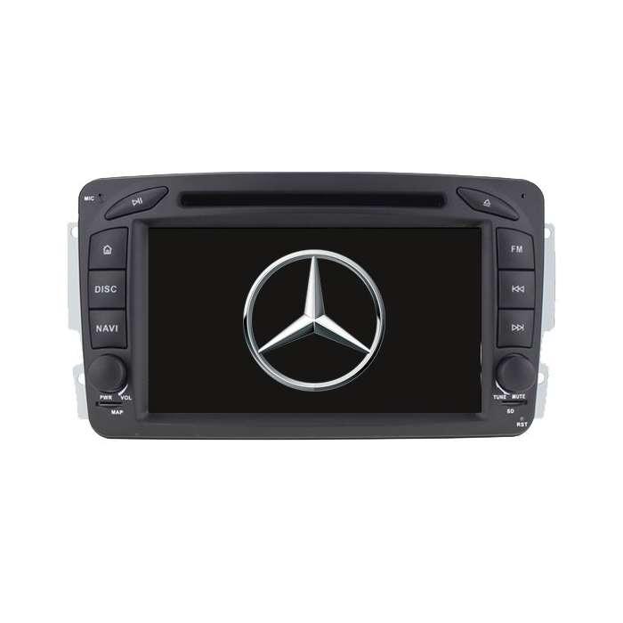 """Radio DVD Navegador GPS Android para Mercedes (7"""")"""