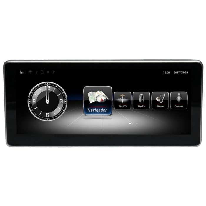 """Radio Navegador GPS Android para Mercedes Clase A, B, CLA, GLA (10,25"""")"""
