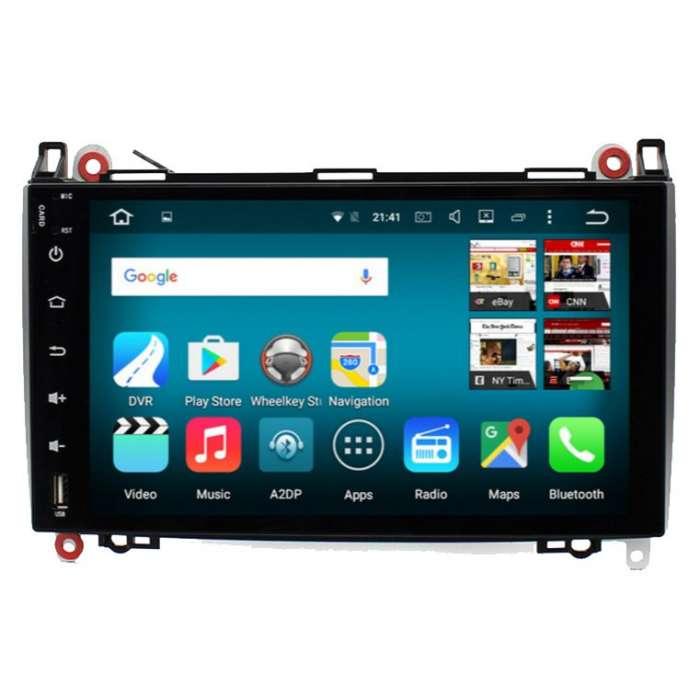 """Radio Navegador GPS Android para Mercedes Benz (9"""")"""