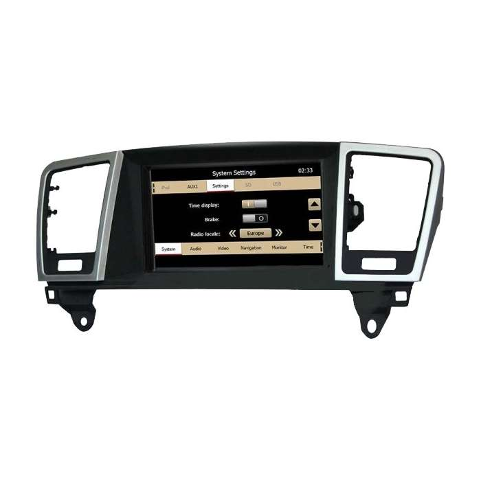"Radio Monitor Navegador HD Android Puro para Mercedes ML / GL (8"")"