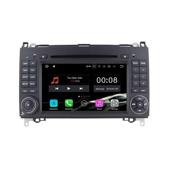 """Radio Navegador Android con DVD 4G LTE para Mercedes Clase A / B / Vito / Viano / Sprinter  (7"""")"""