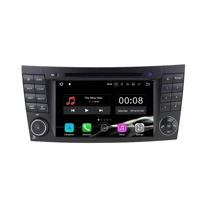 """Radio Navegador Android con DVD 4G LTE para Mercedes Clase E (7"""")"""