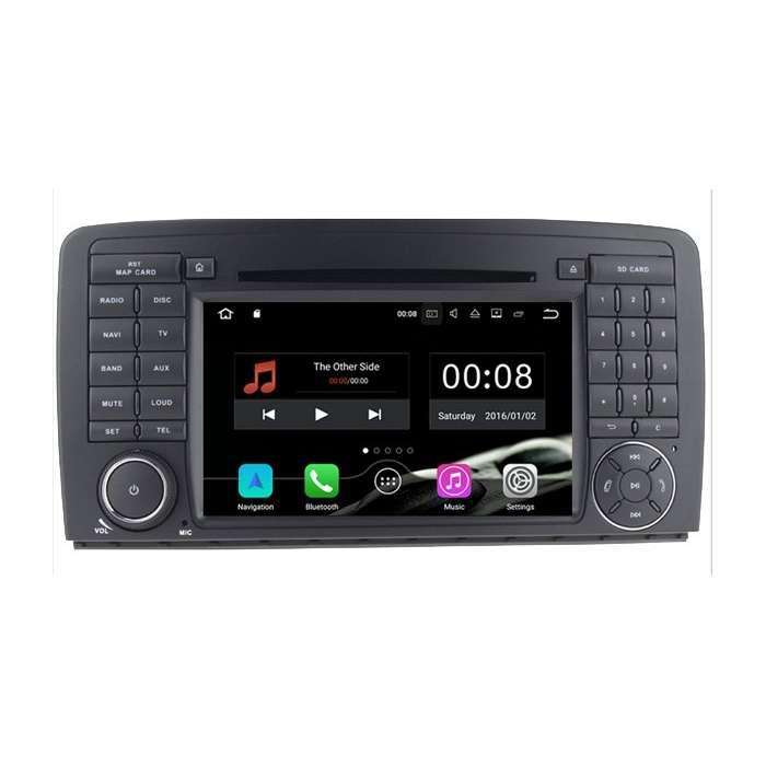 """Radio DVD Navegador GPS Android 4G LTE para Mercedes Clase R (7"""")"""