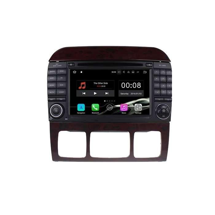 """Radio Navegador Android con DVD 4G LTE para Mercedes Clase S (7"""")"""