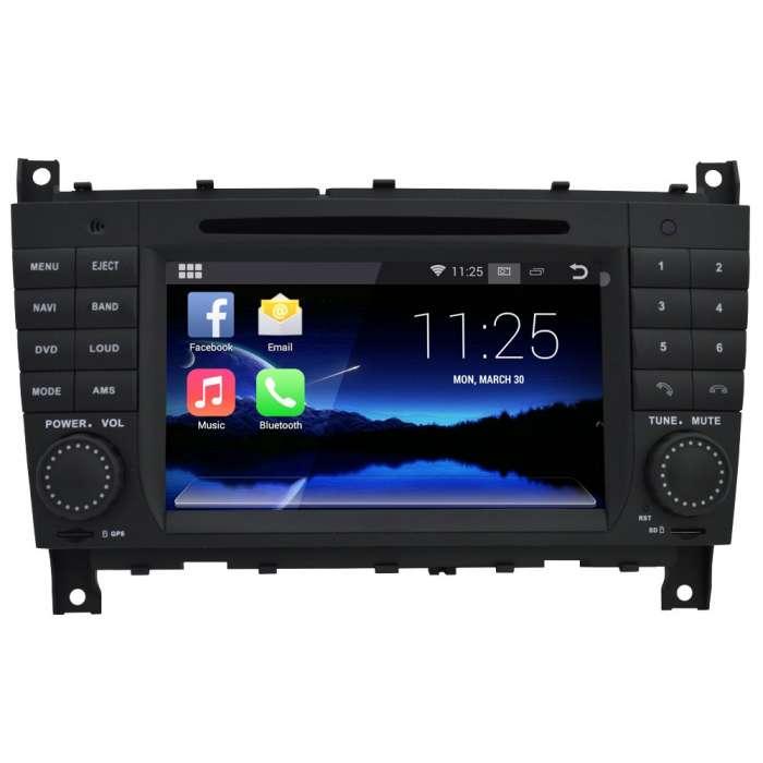 "Radio DVD Navegador Android 4G LTE Octa Core para Mercedes CLK / G / CLS (7"")"