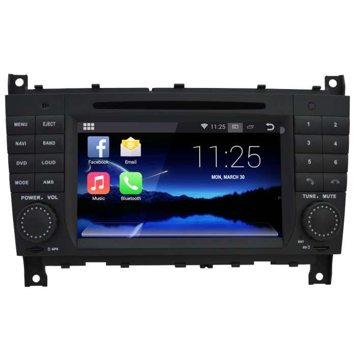 """Radio DVD Navegador Android Quad Core para Mercedes CLK / G / CLS (7"""")"""