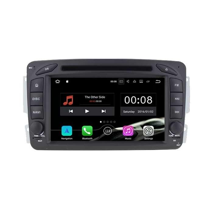 """Radio DVD Navegador Android para Mercedes Benz (7"""")"""