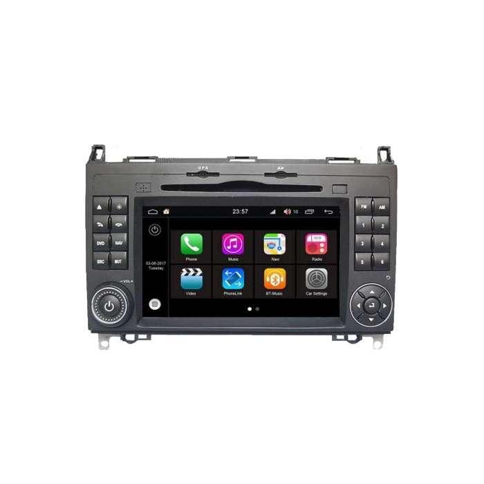 """Radio DVD Navegador Modelo S200 Android para Mercedes Clase A / B (7"""")"""